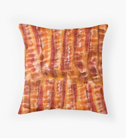 Bacon! Throw Pillow