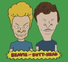 Beavis and Butthead  One Piece - Short Sleeve