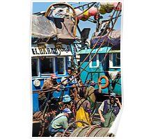 """Crew of the ship """"El Bahar"""" Poster"""