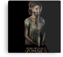 pride prejudice zombies movie Metal Print
