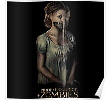 pride prejudice zombies movie Poster