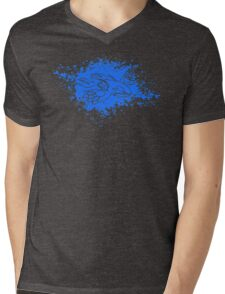 Kyogre Splatter Mens V-Neck T-Shirt