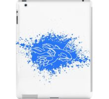 Kyogre Splatter iPad Case/Skin