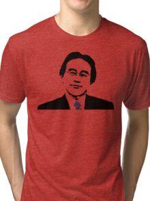 Saturo Iwata Tri-blend T-Shirt