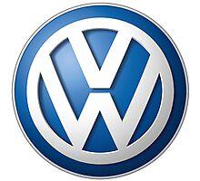 Volkswagen Logo Photographic Print