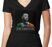 Conor McGregor [McGregor] Women's Fitted V-Neck T-Shirt