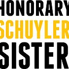 Honorary Schuyler Sister by Kate Purdum