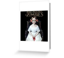 pride prejudice zombies the movie Greeting Card