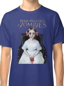 pride prejudice zombies the movie Classic T-Shirt