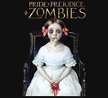 pride prejudice zombies the movie Women's Fitted Scoop T-Shirt