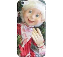 *On the Christmas Tree in Gisborne florist Shop - Vic. Aust.* iPhone Case/Skin