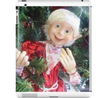*On the Christmas Tree in Gisborne florist Shop - Vic. Aust.* iPad Case/Skin