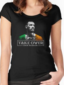 Conor McGregor Take Over Women's Fitted Scoop T-Shirt