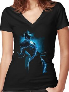 Zoom is coming Women's Fitted V-Neck T-Shirt