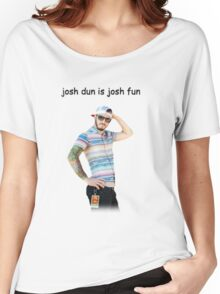 josh dun is josh fun Women's Relaxed Fit T-Shirt
