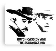 Butch Cassidy and the Sundance Kid Metal Print