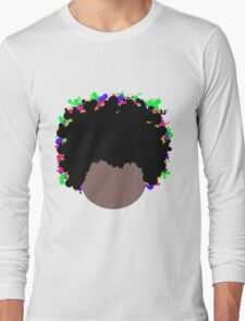 Psychedelic Dope Afro by Anne Winkler T-Shirt