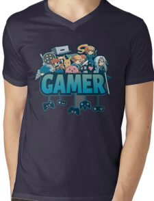 Gamer Mens V-Neck T-Shirt