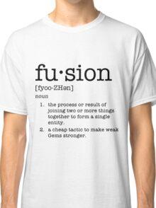 Fusion Definiton - Steven Universe Classic T-Shirt