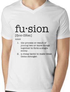 Fusion Definiton - Steven Universe Mens V-Neck T-Shirt