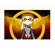 Splatoon - The Hunger Games Art Print