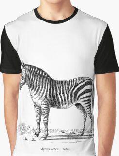 Zebra - Super Retro Graphic T-Shirt