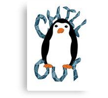 Chill Penguin Canvas Print