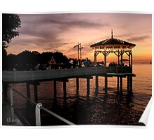 Sunset over Lake Constance-Bodensee Poster