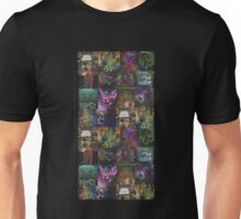 Dark Threads Blotter Art Unisex T-Shirt