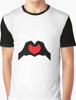 Two hearts become one! Graphic T-Shirt