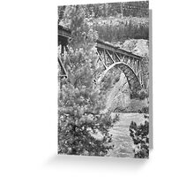 Canada near Kamloops Greeting Card