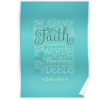 The Essence of Faith Poster