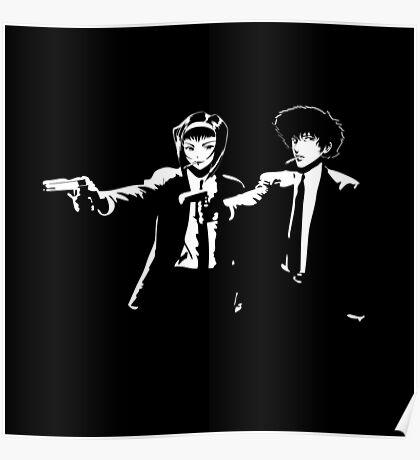Cowboy Bebop Pulp Fiction Poster