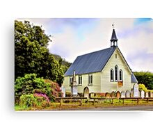 Community Church, Dover Canvas Print