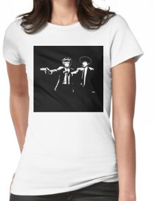 Cowboy Bebop Pulp Fiction Womens Fitted T-Shirt