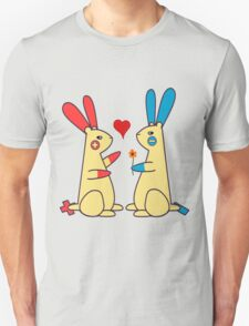 Bunny Love - Plusle and Minun  Unisex T-Shirt
