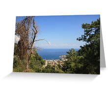 Turunc from the Taurus Mountains Greeting Card