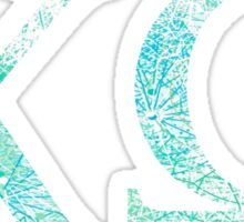 Chi Omega - Beach Sticker
