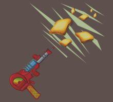 Toast Zappa by Anne Winkler Baby Tee