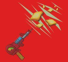 Toast Zappa by Anne Winkler Kids Tee