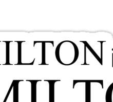 Jamilton Sticker