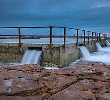 North Curl Curl Pool by Lorraine Creagh