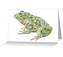 Beautiful Frog Greeting Card