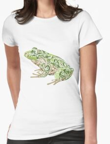 Beautiful Frog Womens Fitted T-Shirt