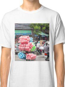 Scooter Carrying Coloured Balls Vietnam Classic T-Shirt