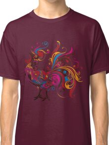 Colorful Cock Classic T-Shirt
