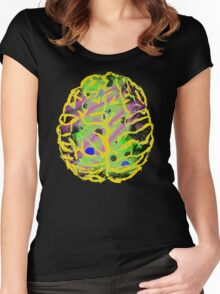 My 80's Brain by Anne Winkler Women's Fitted Scoop T-Shirt