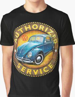 VW beetle authorized service Graphic T-Shirt