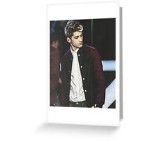 Zayn Greeting Card