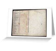 Civil War Maps 2145 Maps of Virginia Greeting Card